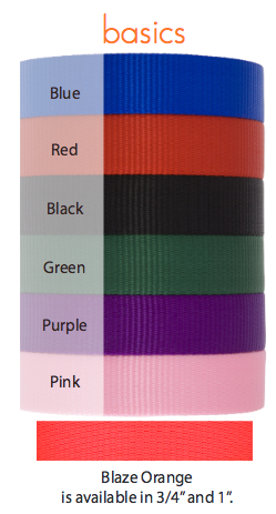 3/4'' Lupine Collars - Solids